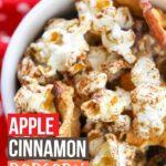 Simple apple cinnamon popcorn recipe