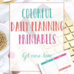 Colorful Daily Planning Printables