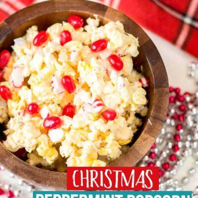 Christmas Peppermint Popcorn Recipe