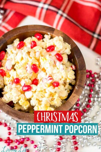 Christmas Peppermint Popcorn