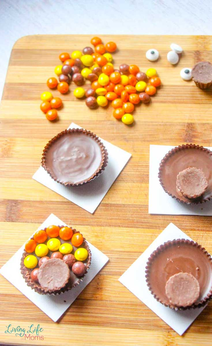 Reese's Turkey Treats Ingredients