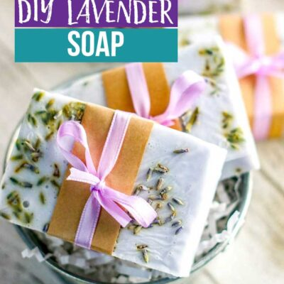 How to Make Lavender Soap with Shea Butter