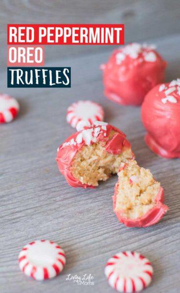 Red Peppermint Oreo Truffle Recipe