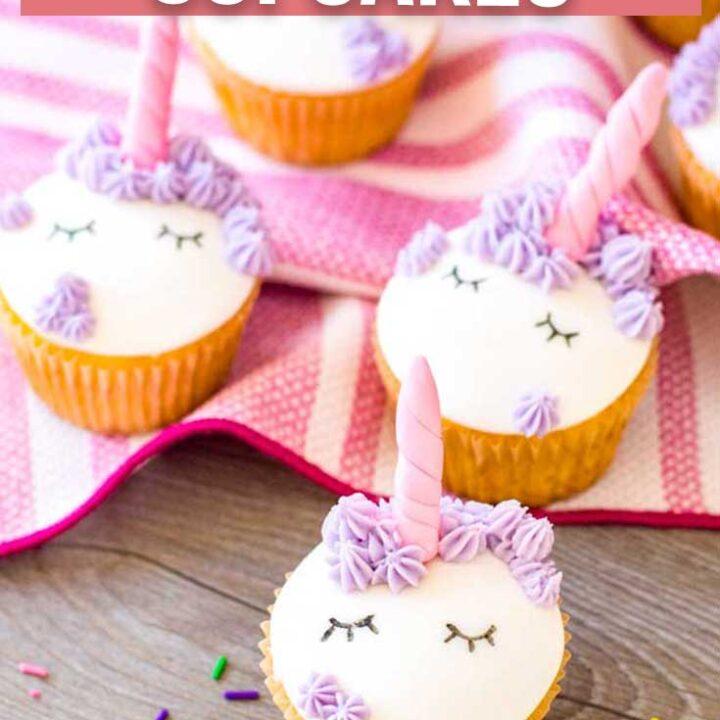 How to Make Fondant Unicorn Cupcakes
