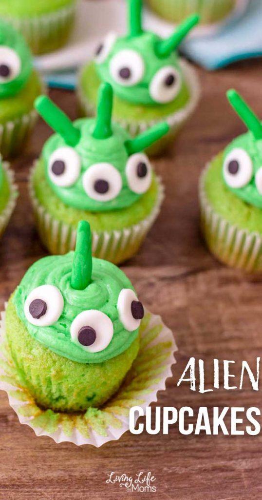 Alien Cupcakes Recipe