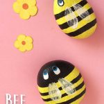 Buzzing Bee Painted Rocks