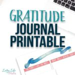 Gratitude Journal Printable