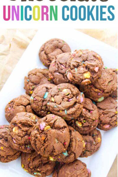 Chocolate Unicorn Cookies Recipe