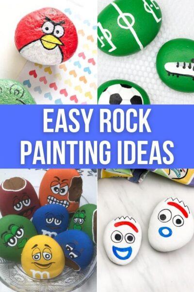 Easy Painted Rocks Ideas