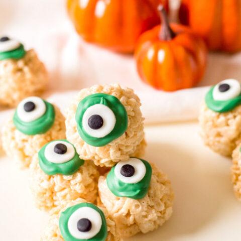 eyeball Rice Krispies