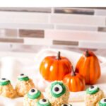 eyeball rice Krispy treats