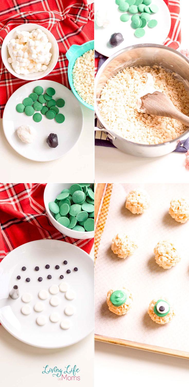 how to make eyeball rice krispies