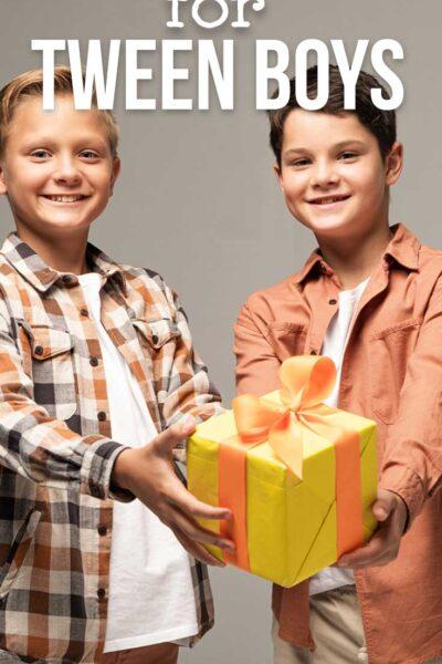 Best Gift Ideas for Tween Boys
