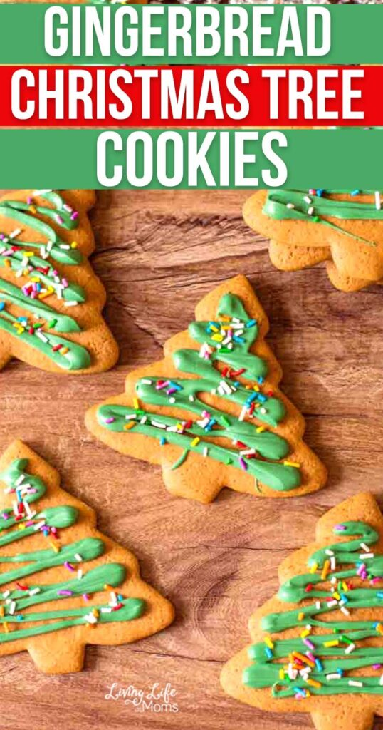 Christmas Tree Gingerbread Cookies recipe