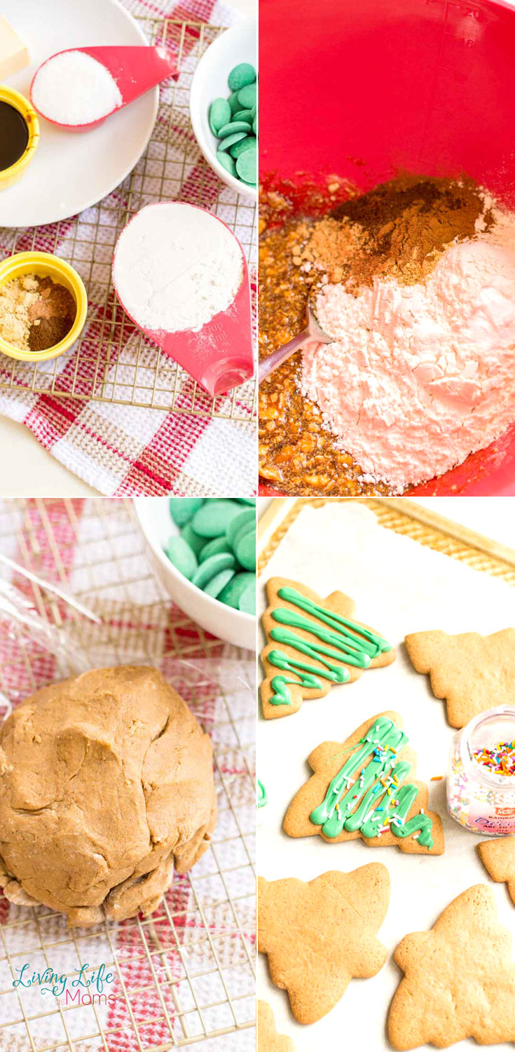 Gingerbread Christmas cookies directions