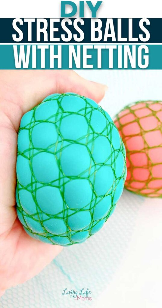 DIY Stress Balls with Netting