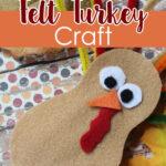 DIY Felt Turkey Craft