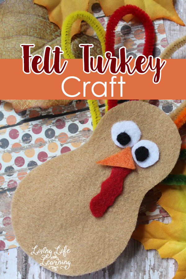 DIY Felt Turkey Craft