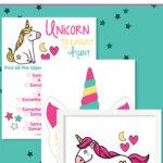 Magical Unicorn Treasure Hunt Printable
