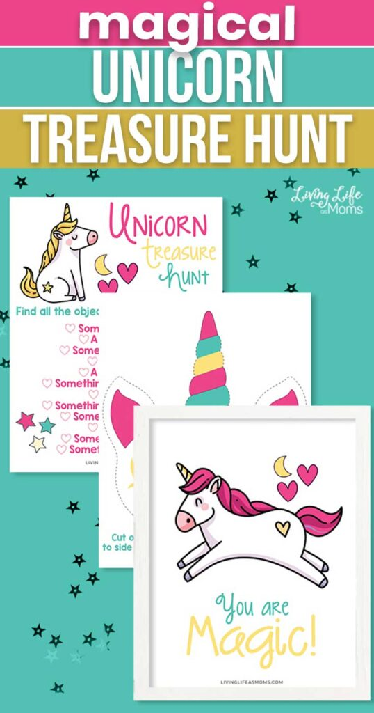 Magical Unicorn Treasure Hunt Printable