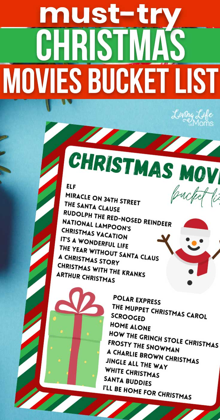 Must-See Family Christmas Movies Bucket List