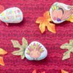 Thanksgiving Painted Rocks Craft