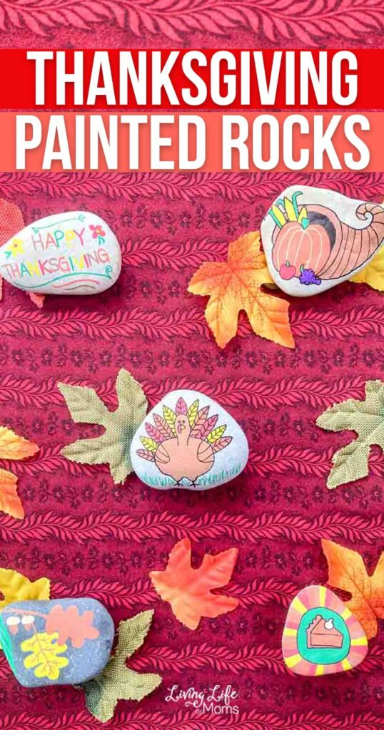 Thanksgiving Painted Rocks Craft