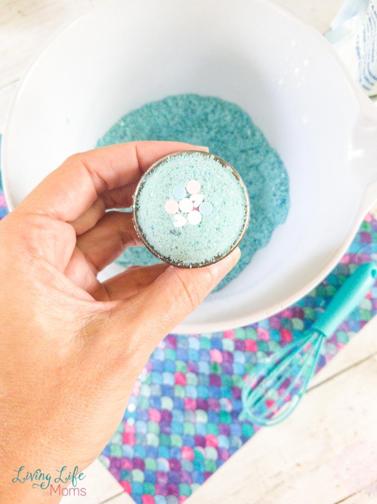Mermaid Bath Bomb instructions