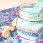 DIY Mermaid Bath Salts Tutorial