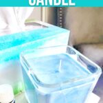 DIY Sinus Relief Essential Oil Candle