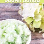 DIY Lemongrass Sugar Scrub