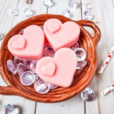 heart sugar scrub recipe