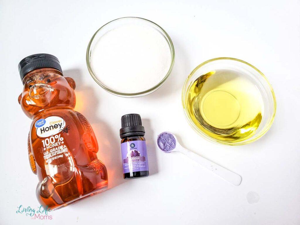 DIY Honey and Lavender Sugar Scrub Tutorial