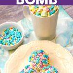 Mermaid hot chocolate bomb tutorial