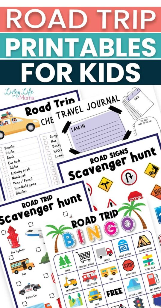 Fun Road Trip Printables