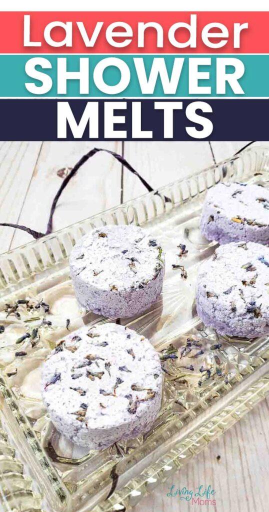 lavender shower melts tutorial