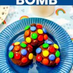 Fun M&M Hot Chocolate Bomb Tutorial