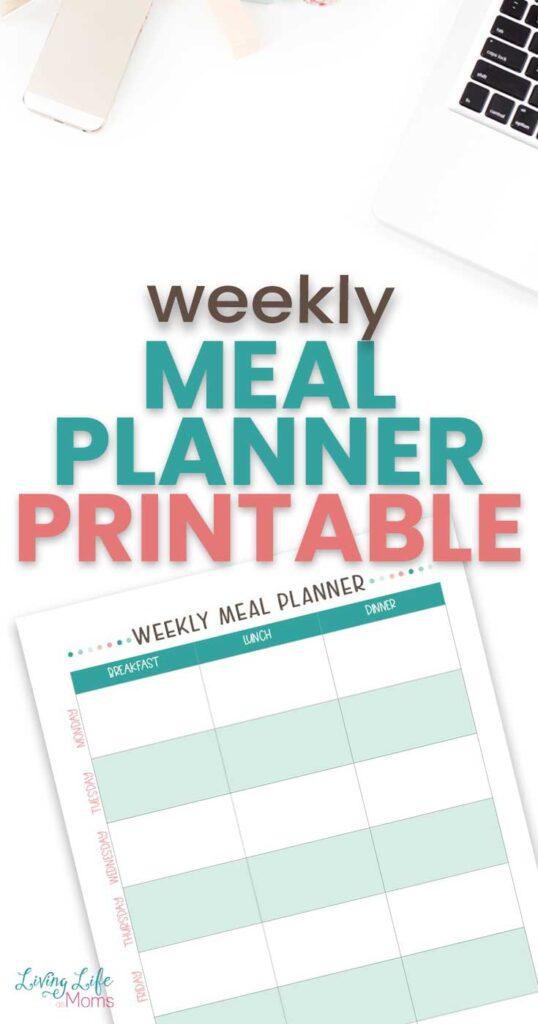 Weekly Meal Planning Printables
