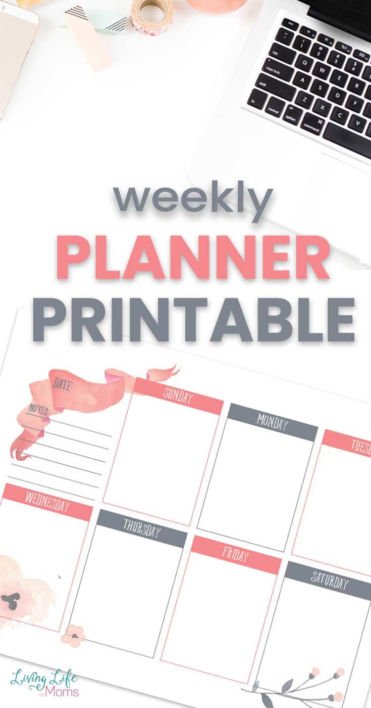 Weekly Planning Printable