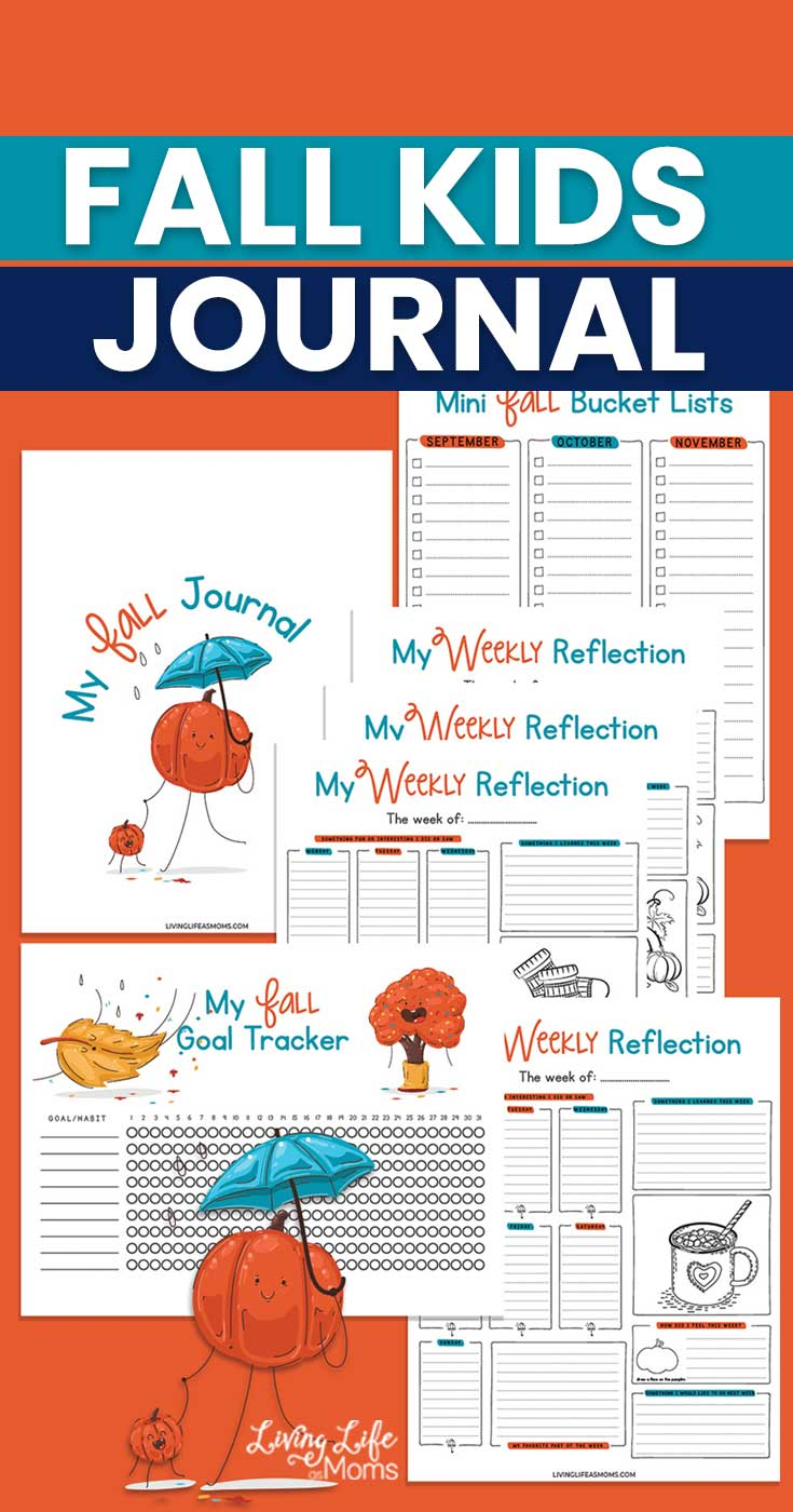 Fall Daily Journal for Kids