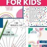gratitude journal for elementary students