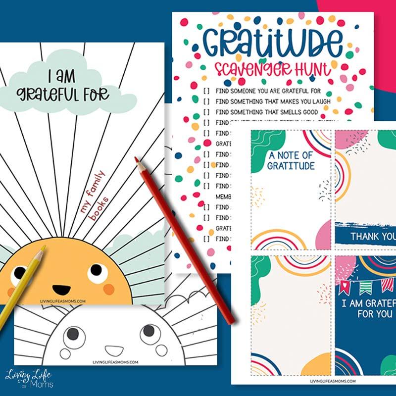 kids gratitude journal