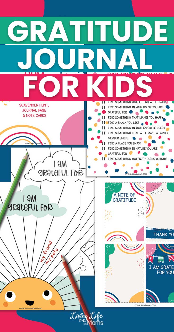 Fun Gratitude Journal for Elementary Students