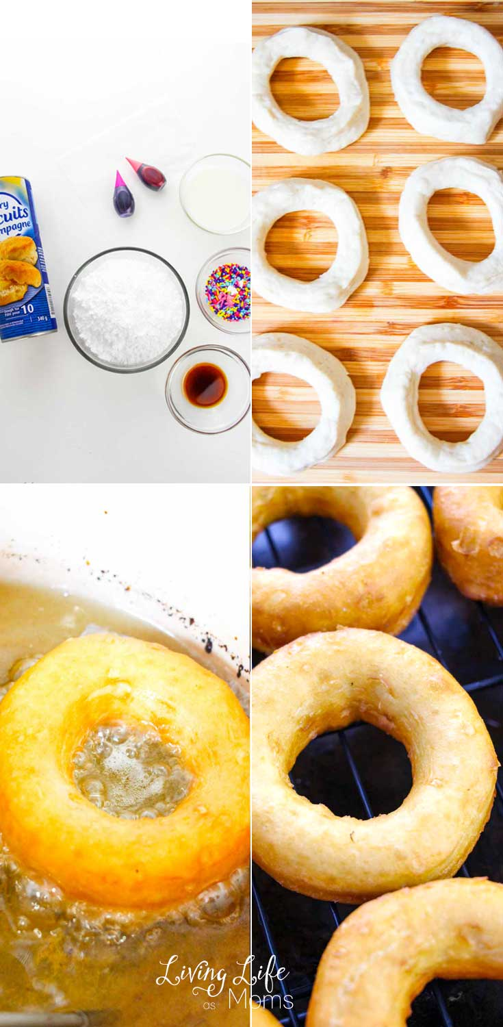 how to fry donuts at home
